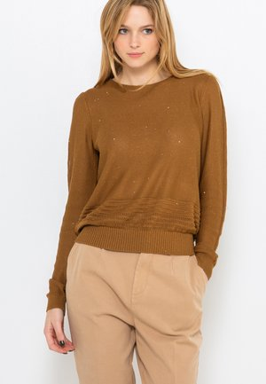 Pullover - bronze