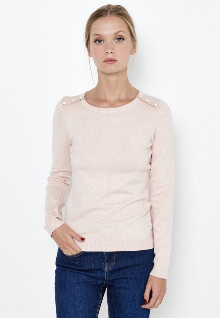 Camaïeu - PULL FIN  - Pullover - rose pale