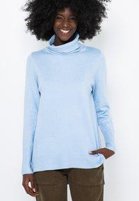Camaïeu - Pullover - blue - 0