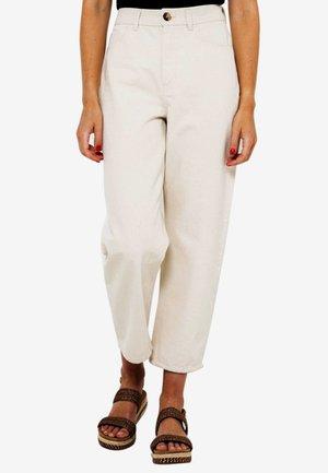 Pantalon classique - off-white