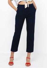 Camaïeu - Jean droit - blue jeans - 0
