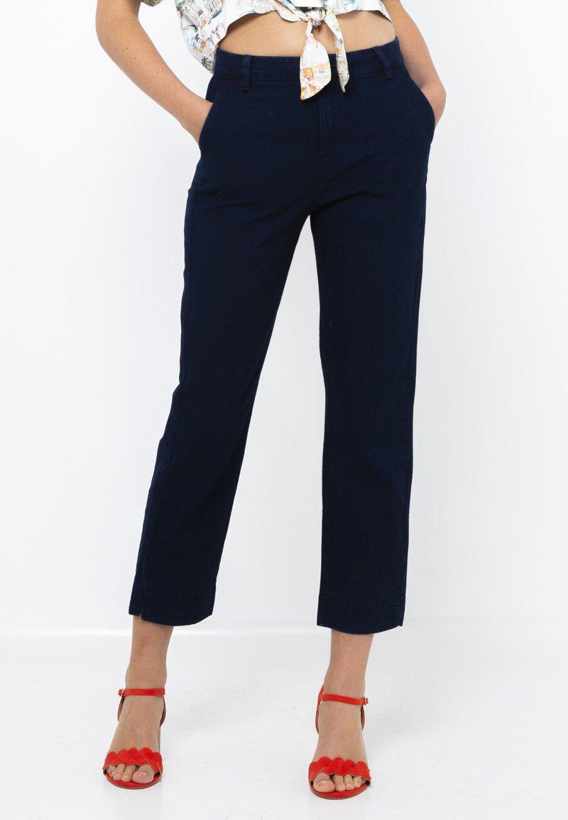 Camaïeu - Jean droit - blue jeans
