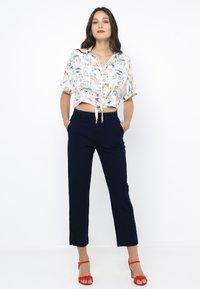 Camaïeu - Jean droit - blue jeans - 1