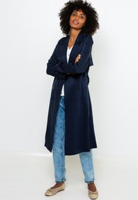 Camaïeu - RESPONSABLE - Trench - dark blue - 1