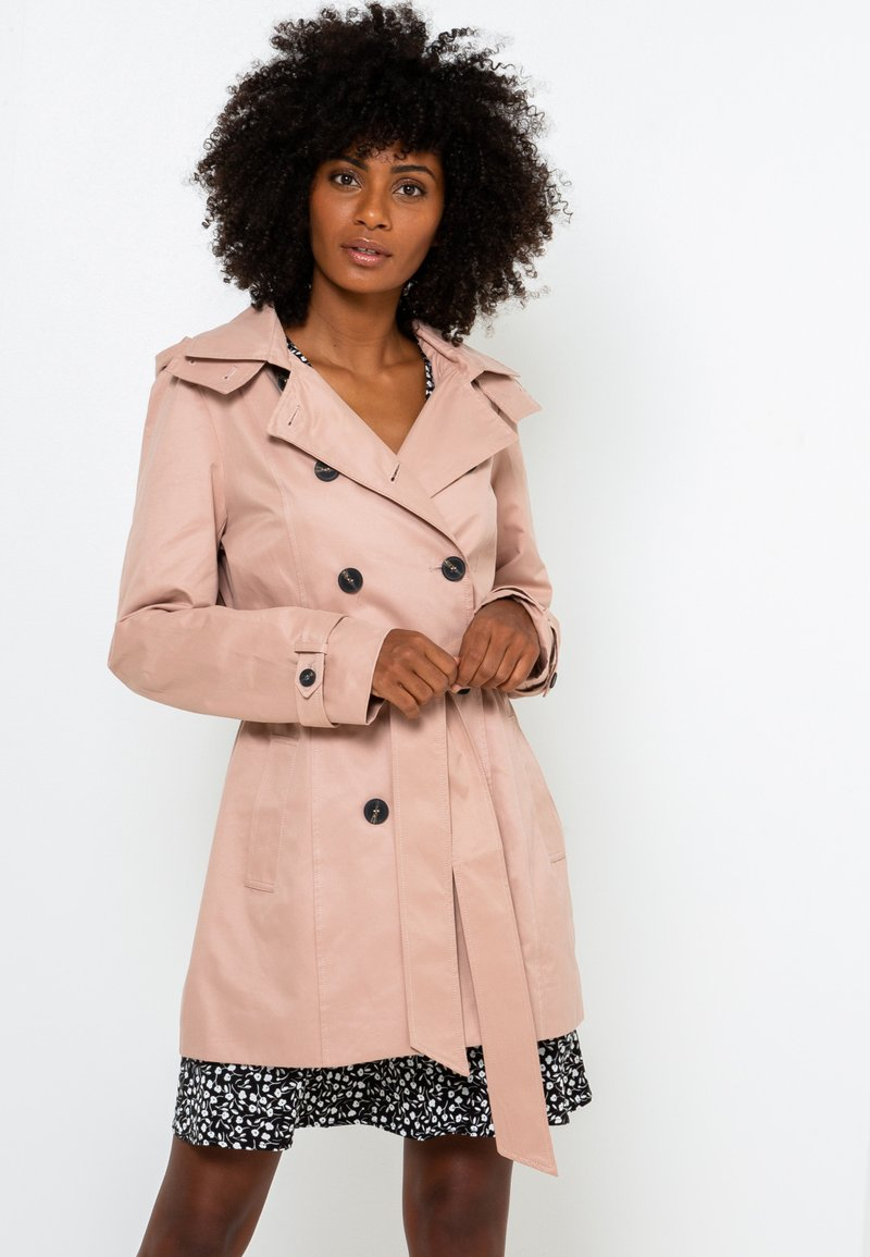 Camaïeu - Trench - powdery pink