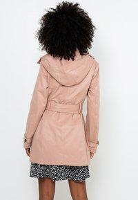 Camaïeu - Trench - powdery pink - 2