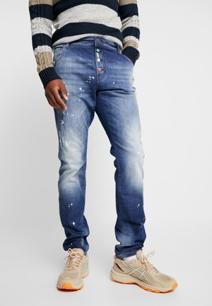 Džíny Straight Fit - blue denim