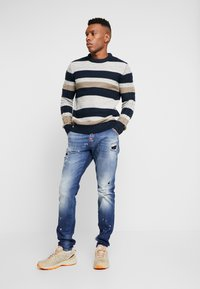 Carlo Colucci - Straight leg jeans - blue denim - 1