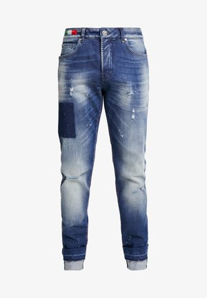 Jeans a sigaretta - dark blue denim