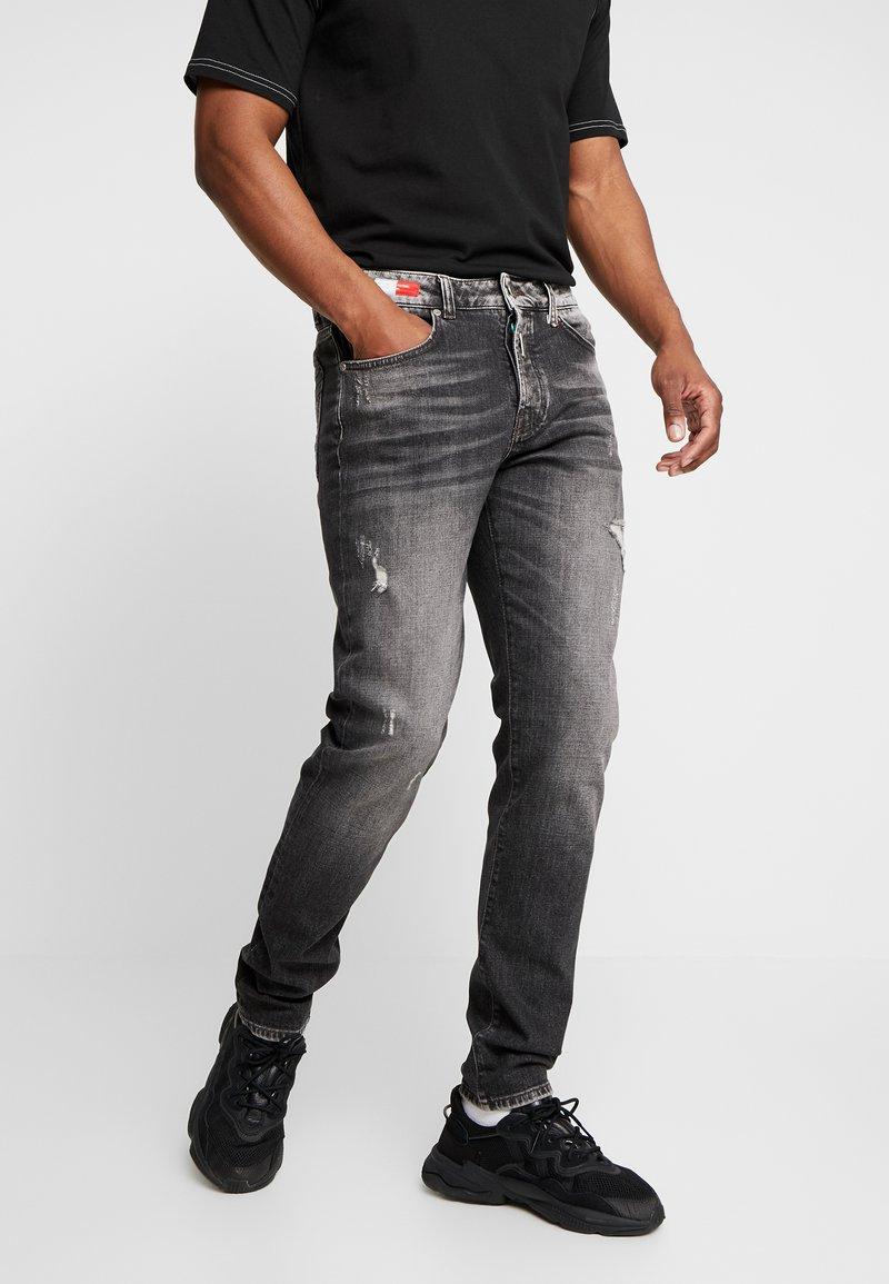 Carlo Colucci - Straight leg jeans - black