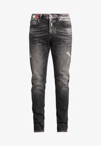Carlo Colucci - Straight leg jeans - black - 3