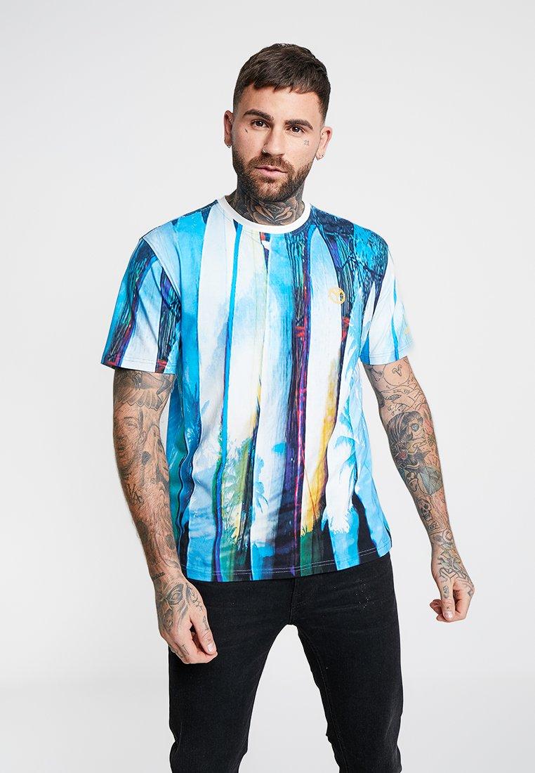 Carlo Colucci - T-shirt imprimé - blue