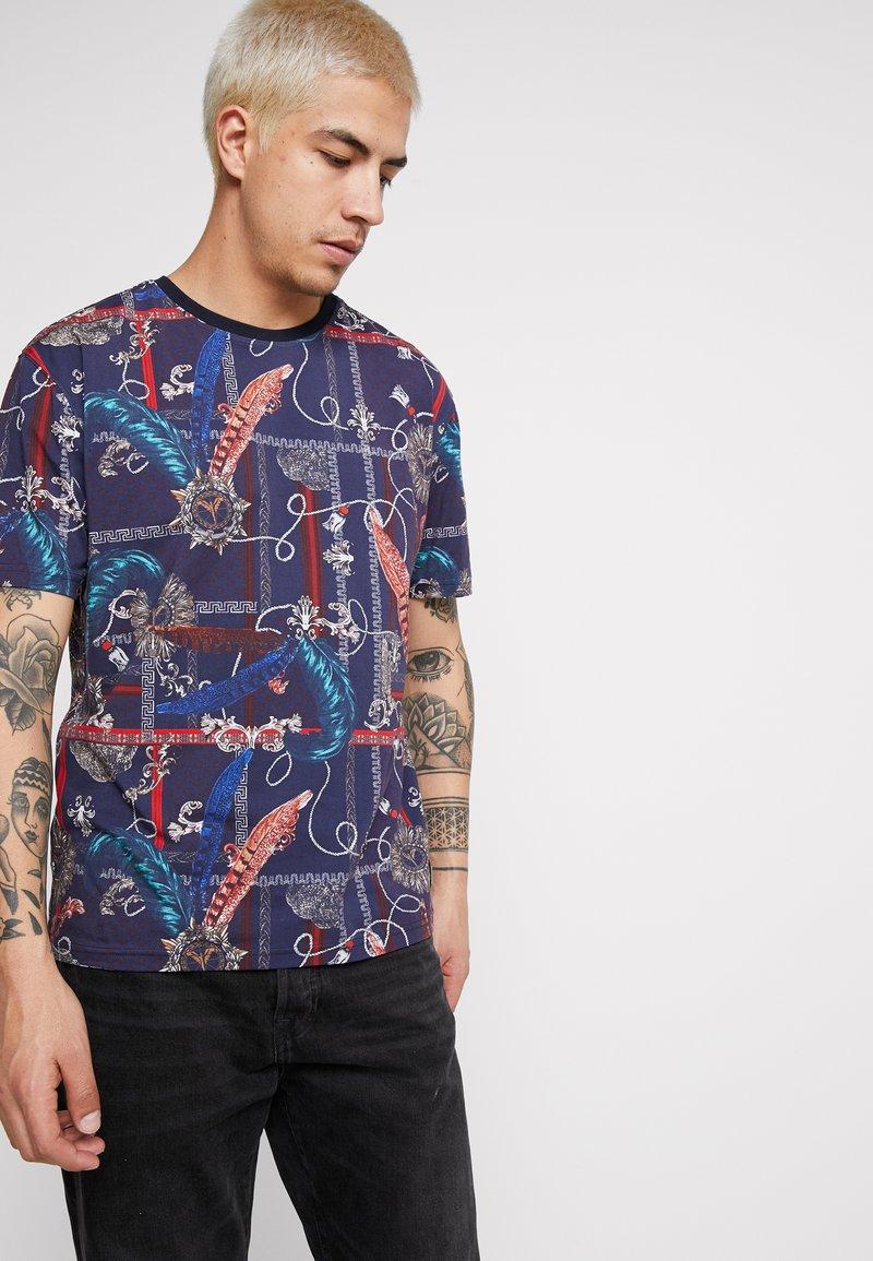 Carlo Colucci - Camiseta estampada - blue