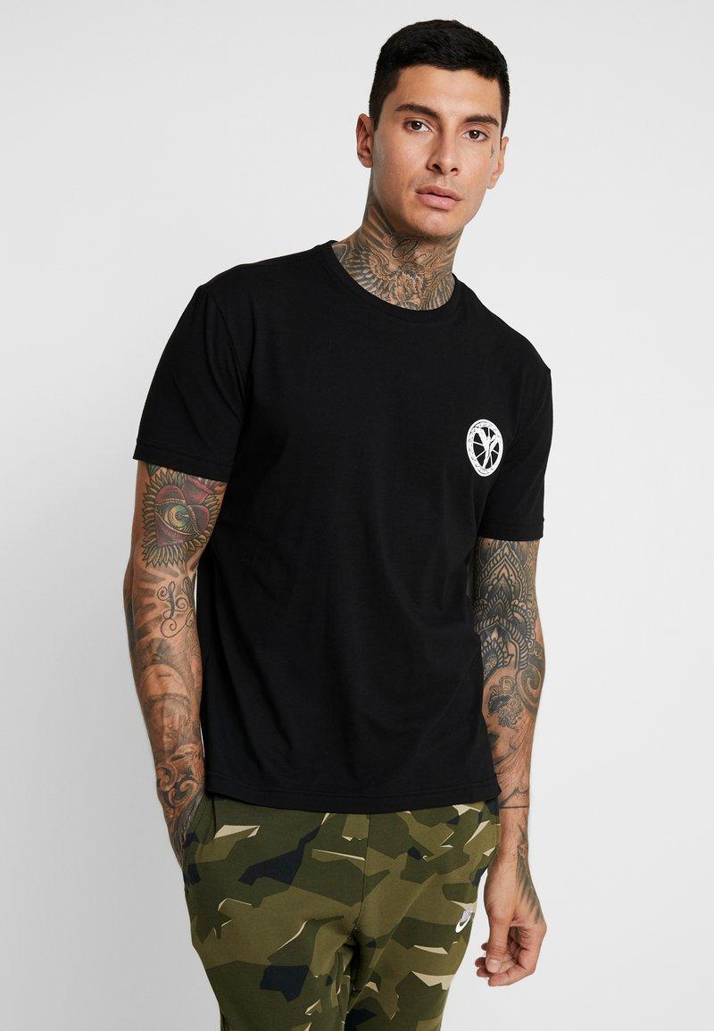 Carlo Colucci - Camiseta estampada - schwarz