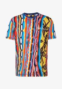 Carlo Colucci - T-shirt print - indigo/red/yellow - 3