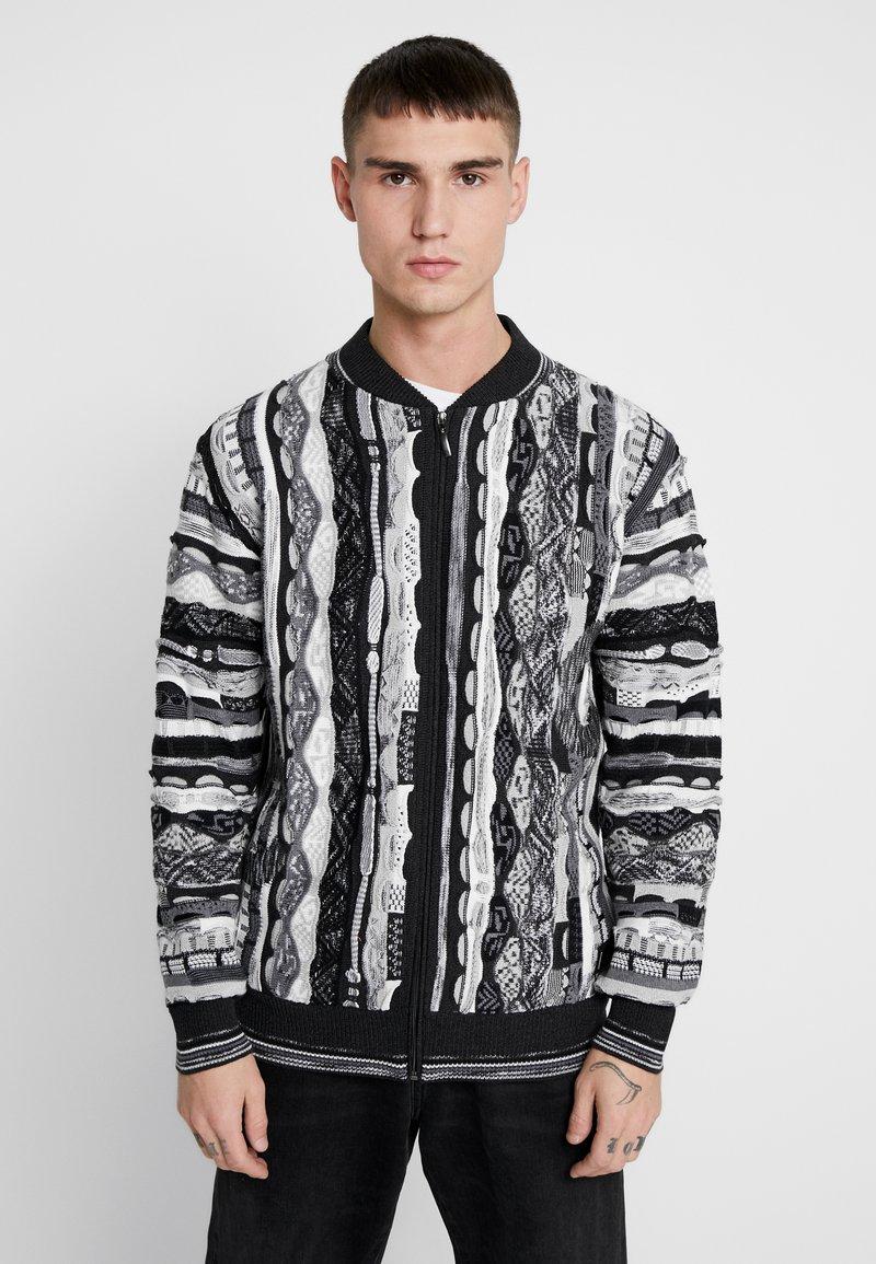 Carlo Colucci - Vest - weiss schwarz