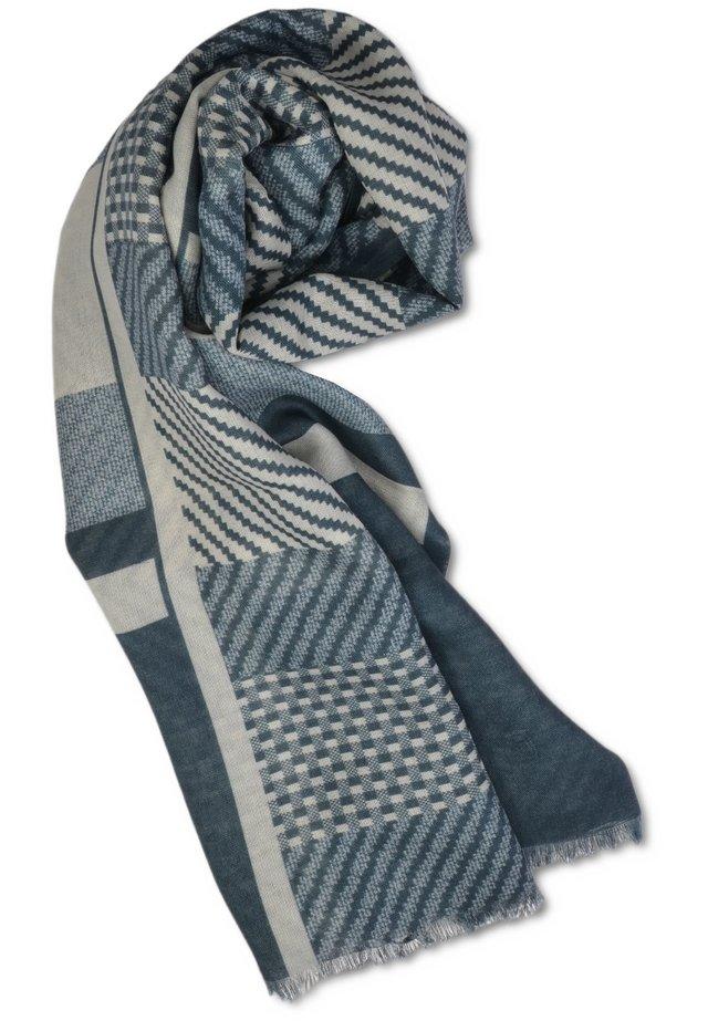 Scarf - Gray, Blue