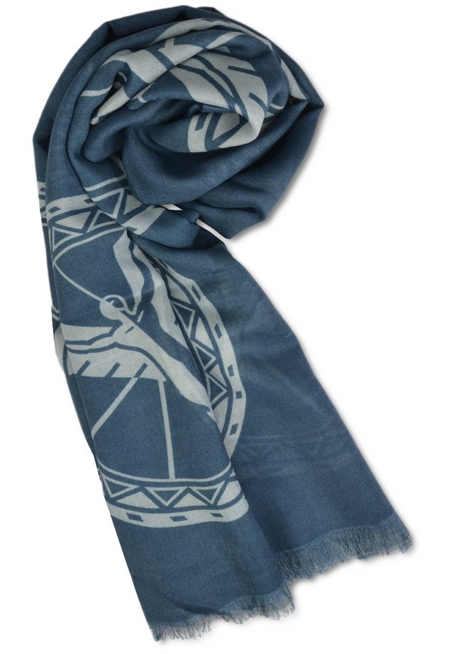 LOGO-DESSIN - Scarf - blau