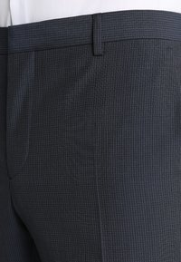 Calvin Klein Tailored - GRIDED TWO TONE SUIT - Oblek - blue - 7