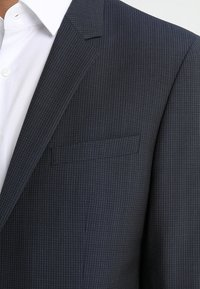 Calvin Klein Tailored - GRIDED TWO TONE SUIT - Oblek - blue - 4