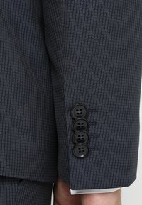 Calvin Klein Tailored - GRIDED TWO TONE SUIT - Oblek - blue - 10