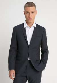 Calvin Klein Tailored - GRIDED TWO TONE SUIT - Oblek - blue - 2