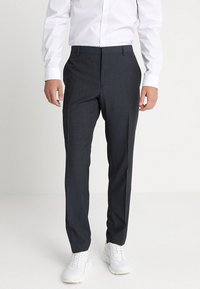 Calvin Klein Tailored - GRIDED TWO TONE SUIT - Oblek - blue - 5