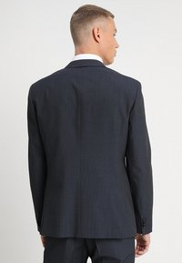Calvin Klein Tailored - GRIDED TWO TONE SUIT - Oblek - blue - 3