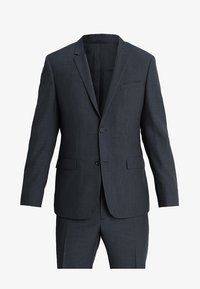 Calvin Klein Tailored - GRIDED TWO TONE SUIT - Oblek - blue - 9