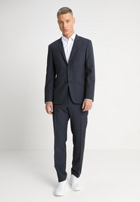 Calvin Klein Tailored - GRIDED TWO TONE SUIT - Oblek - blue - 0