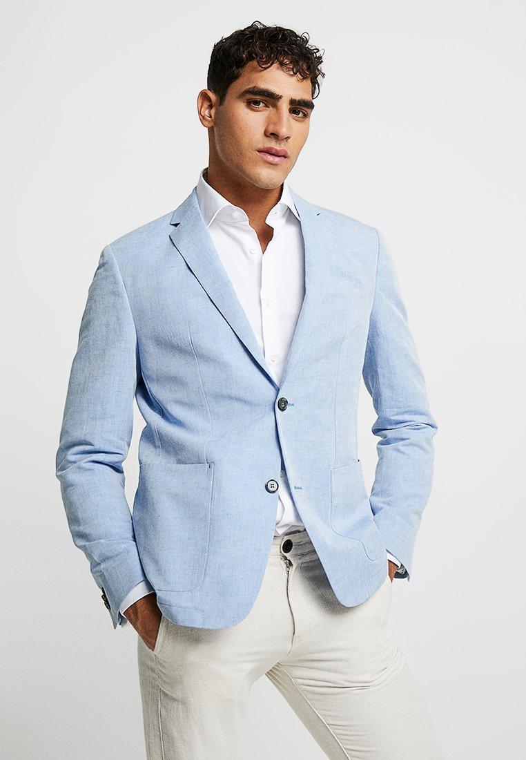 Calvin Klein Tailored - CHAMBRAY - Blazer - blue