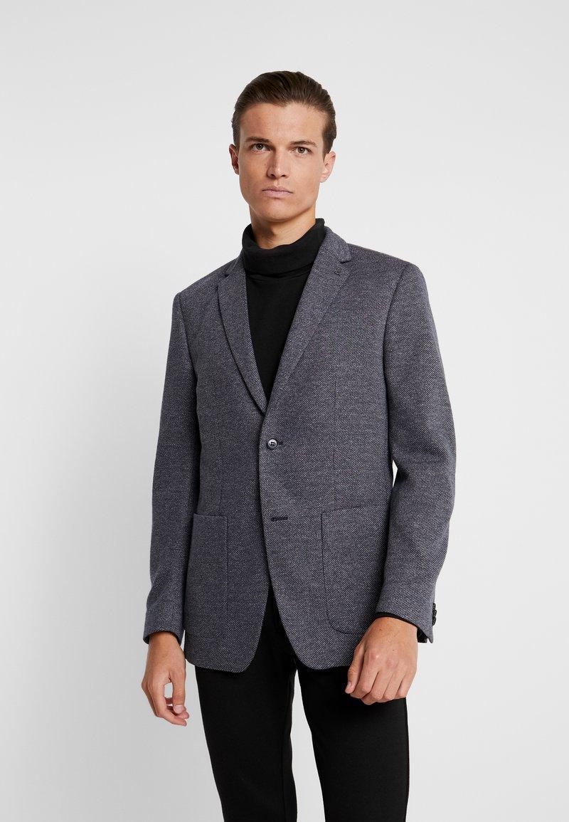 Calvin Klein Tailored - TWO TONE  PATCH  REGULAR FIT - Sakko - blue