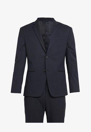 TRAVEL BI-STRETCH TWILL SLIM SUIT - Kostuum - blue