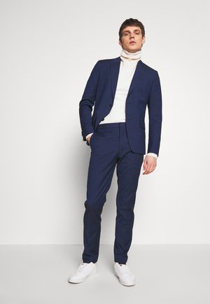 TROPICAL SLIM SUIT - Anzug - blue