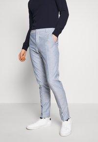 Calvin Klein Tailored - TROPICAL SLIM SUIT - Garnitur - blue - 4