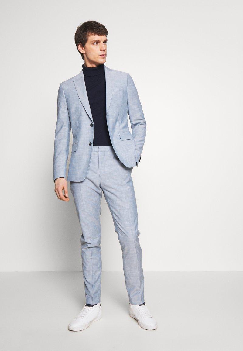 Calvin Klein Tailored - TROPICAL SLIM SUIT - Garnitur - blue