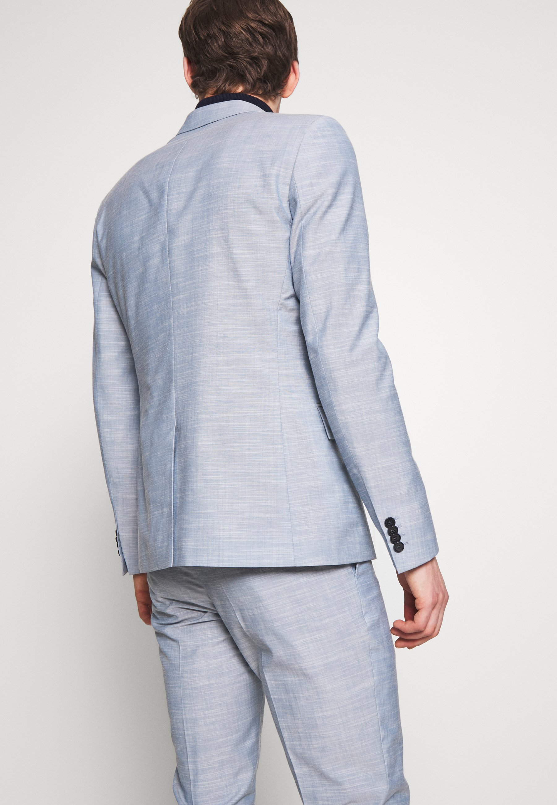 Calvin Klein Tailored Tropical Slim Suit - Kostym Blue