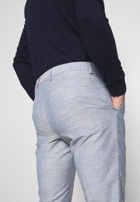 Calvin Klein Tailored - TROPICAL SLIM SUIT - Garnitur - blue - 8