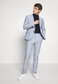 Calvin Klein Tailored - TROPICAL SLIM SUIT - Garnitur - blue - 1