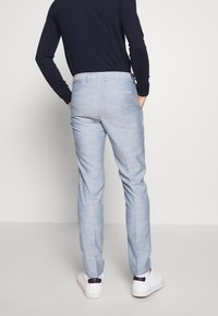 Calvin Klein Tailored - TROPICAL SLIM SUIT - Garnitur - blue - 5