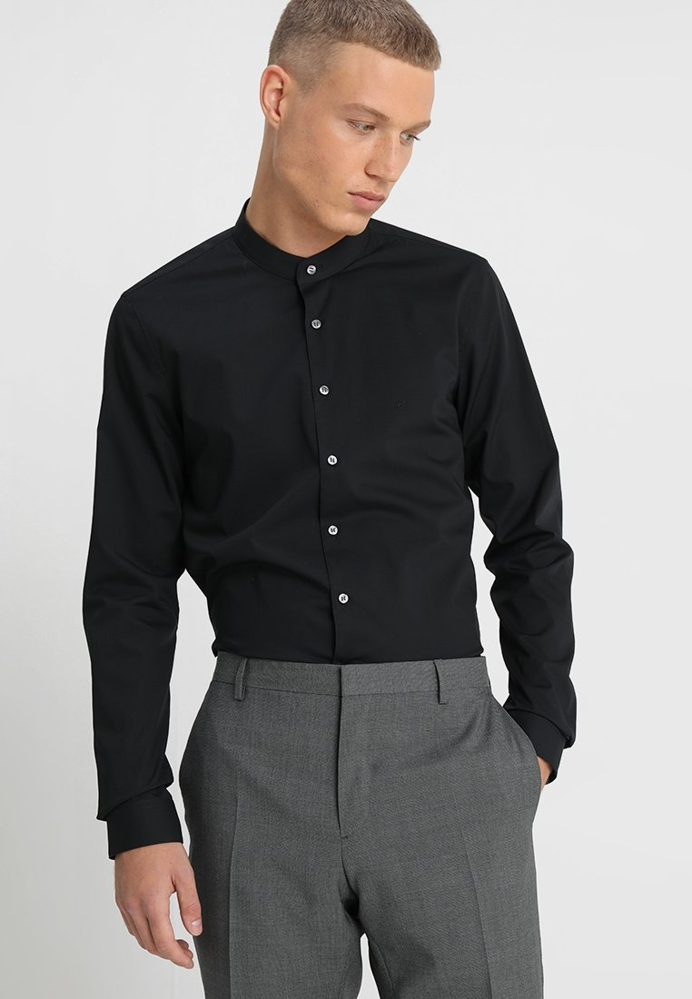 Calvin Klein Tailored - POPLIN STRETCH EXTRA SLIM - Overhemd - black