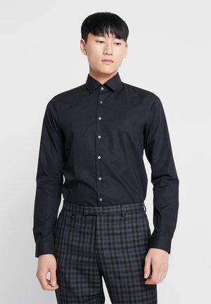 POPLIN EXTRA SLIM FIT - Finskjorte - black