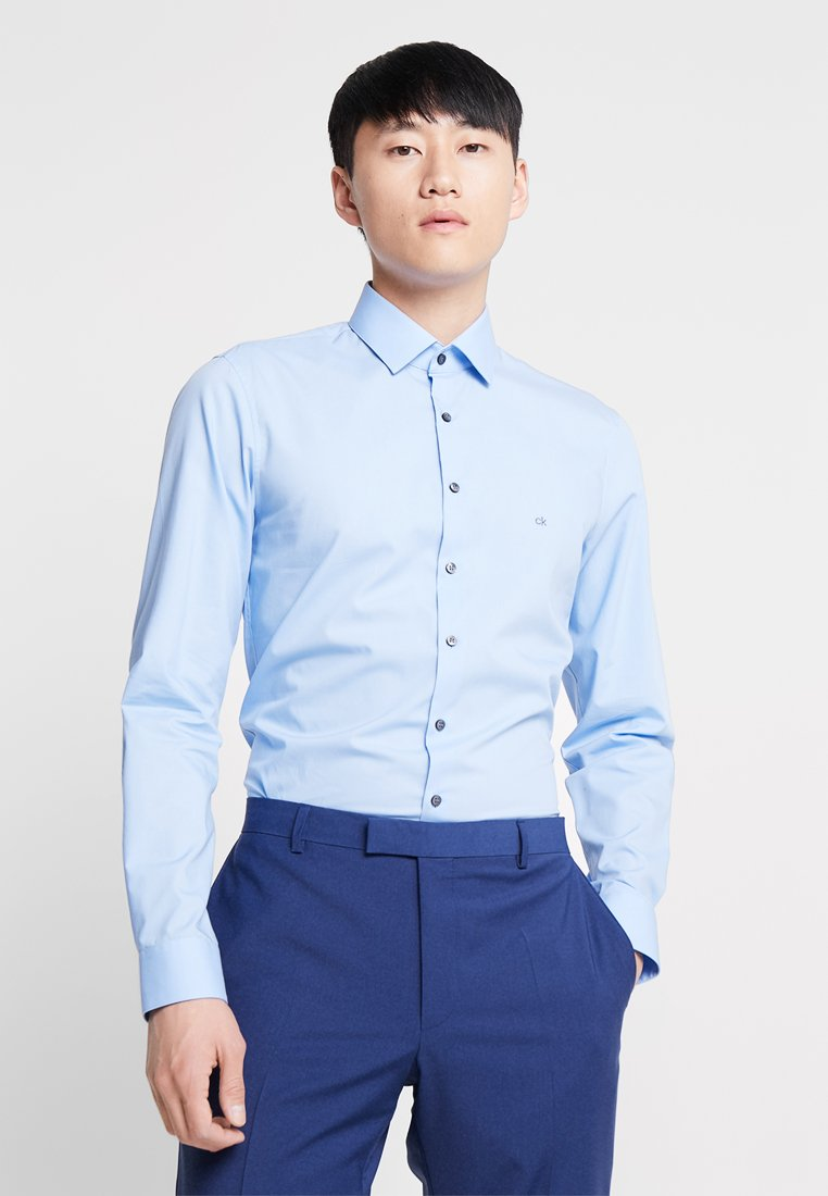 Calvin Klein Tailored - STRETCH SLIM - Koszula biznesowa - blue