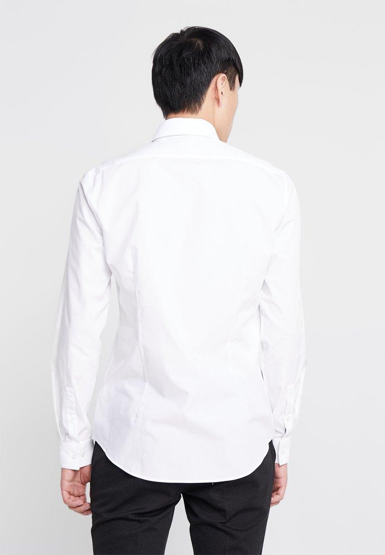 Poplin Slim FitChemise White Klein Tailored Calvin Classique l1TKJFc