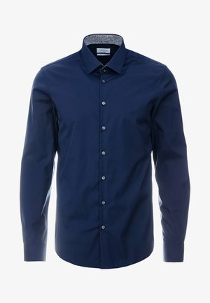 CONTRAST EASY IRON SLIM FIT SHIRT - Kauluspaita - blue