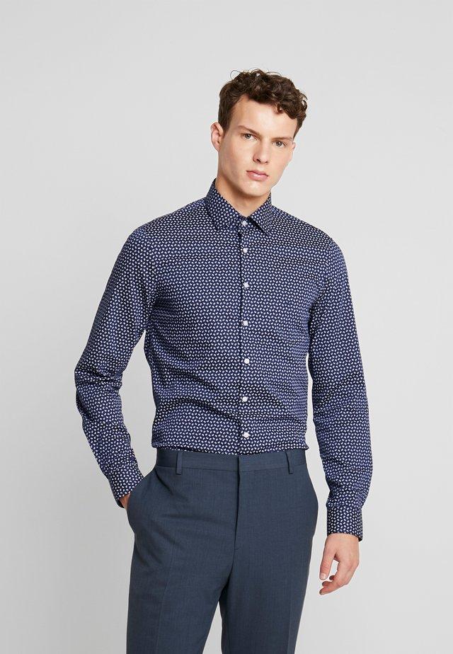 PAISLEY PRINTED SLIM SHIRT - Kostymskjorta - blue