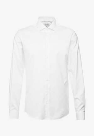EASY IRON FITTED SHIRT - Formální košile - white