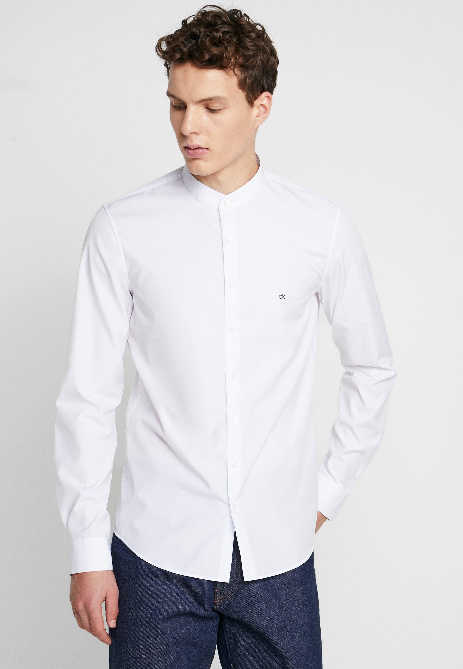 Calvin Klein Tailored EASY IRON SLIM - Koszula - white