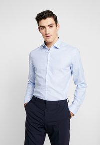 Calvin Klein Tailored - STRUCTURE EASY IRON SLIM  - Chemise - blue - 0