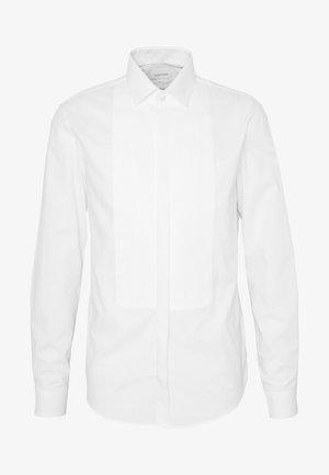 TUXEDO HIDDEN PLACKET SLIM  - Kauluspaita - white